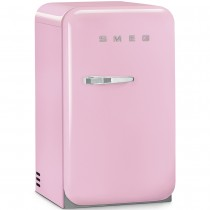 Smeg Retro Mini Bar Fridge Pink