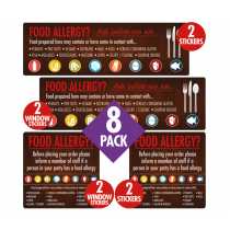 Food Allergen Awareness Catering Sign Pack