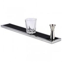 Stainless Steel Framed Bar Mat 60.5 x 10cm