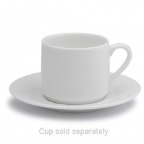 Elia Fine China Glacier Saucer for Espresso Cup 115mm