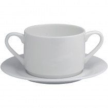 Elia Fine China Glacier Saucer for Soup Cup 175mm