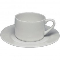 Elia Fine China Glacier Stackable Tea Cup 24cl