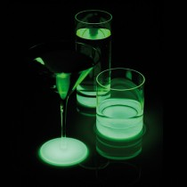 Cocktail Glass Flourescent Bottom 240ml/8.5oz