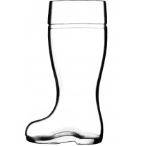 Glass Wellington Boots 1 Litre / 35oz