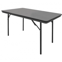 Bolero ABS Folding Banquet Rectangular Table 4ft
