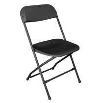 Bolero Folding Chairs Black