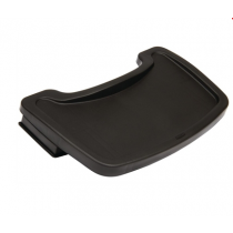 Plastic High Chair Tray Black