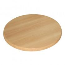 Bolero Round Pre-drilled Table Top Beech 600mm