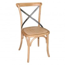 Bolero Wooden Dining Chairs with Backrest