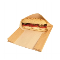 Vegware Compostable Kraft Panini Bags