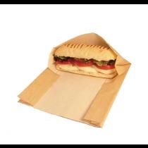 Vegware Compostable Kraft Panini Bags