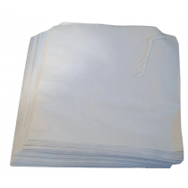Strung White Paper Counter Bags