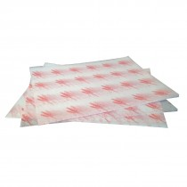 Burger Wrapping Paper Sheets Red 245 x 300mm