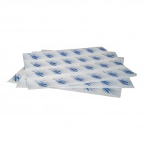 Burger Wrapping Paper Sheets Blue 245 x 300mm