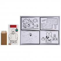 Kids Cutlery Pouch and Tablemat with Napkin