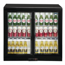 Polar GL003 208 Ltr Double Sliding Door Bottle Cooler