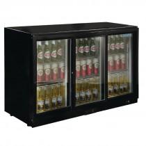 Polar GL006 330 Ltr Triple Sliding Door Bottle Cooler