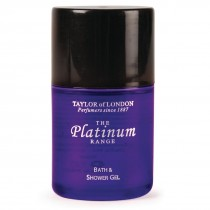 Platinum Range Shower Gel - 30ml Pack of 50