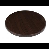 Bolero Round Table Top Dark Brown 800mm