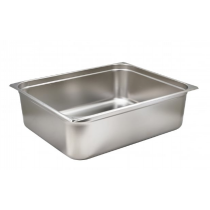 Stainless Steel Gastronorm Pan 2/1 - 200mm Deep