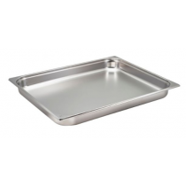 Stainless Steel Gastronorm Pan 2/1 - 65mm Deep