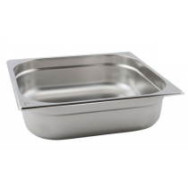 Stainless Steel Gastronorm Pan 2/3 - 40mm Deep