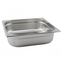 Stainless Steel Gastronorm Pan 2/3 - 65mm Deep