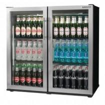Autonumis Popular Double Door Bottle Cooler Stainless Steel