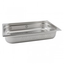 Stainless Steel Perforated Gastronorm Pan 1/1 - 150mm Deep