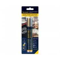 Securit Liquid Chalk Markers 1-2mm Nib Gold and Silver