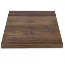 Bolero Square Table Top Rustic Oak 600mm