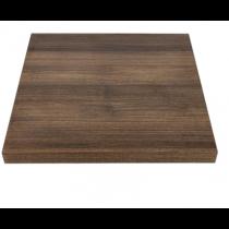 Bolero Square Table Top Rustic Oak 700mm