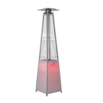 Lifestyle Tahiti LED Flame Stainless Steel Patio Heater 13kW