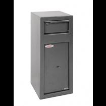 Phoenix Cash Deposit Drop Safe Silver 19Ltr