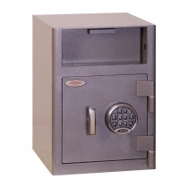 Phoenix Cash Deposit Drop Safe Graphite Grey 47Ltr