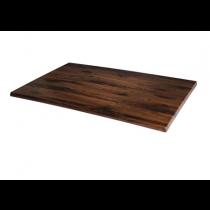Werzalit Rectangular Table Top Antique Oak 1100 x 700mm