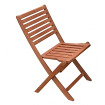 Wooden Folding Side Chair
