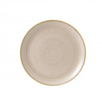 Churchill Stonecast Nutmeg Cream Coupe Plate 32.4cm