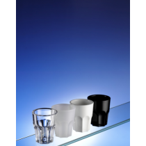 Premium Graniti Plastic Frosted Shot Glasses 50ml
