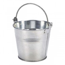 Galvanised Steel Serving Bucket 10cm