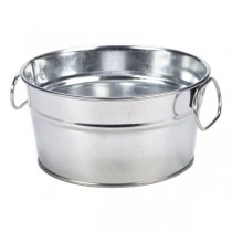 Galvanised Steel Sharing Bucket 15 x 8cm
