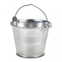 Galvanised Steel Serving Bucket 7cm