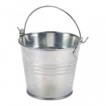 Galvanised Steel Serving Bucket 8.5cm
