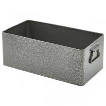 Galvanised Steel Buffet Box Antique Silver