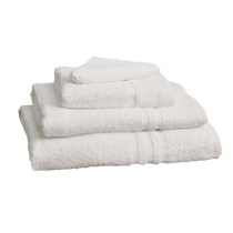 Mitre Essential Capri Face Towel White 300 x 300mm