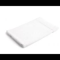 Mitre Essentials Capri Bath Towel White 700 x 1350mm