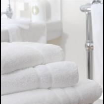 Mitre Comfort Nova Guest Towel White 300 x 500mm