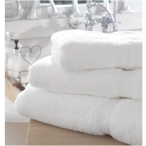 Mitre Comfort Riviera Hand Towel White 500 x 1000mm