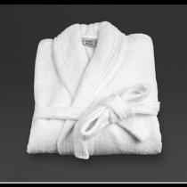 Mitre Essentials Verona Bathrobe Large White