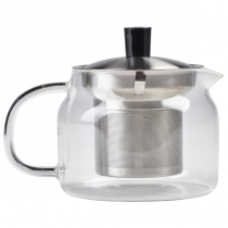 Glass Teapot with Infuser 47cl / 16.5oz